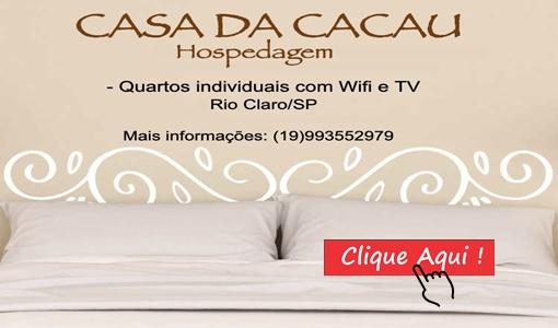 Hospedagem em Rio Claro SP.